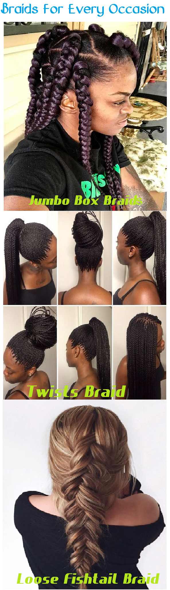 braids for all occasions