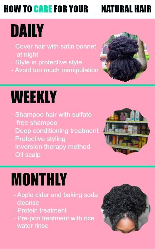 caring for your natural hair