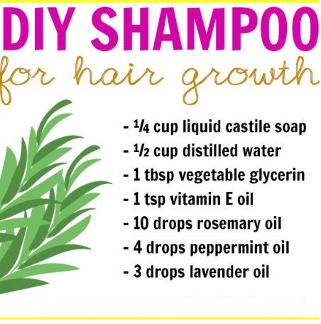 diy shampoo for hair growth.