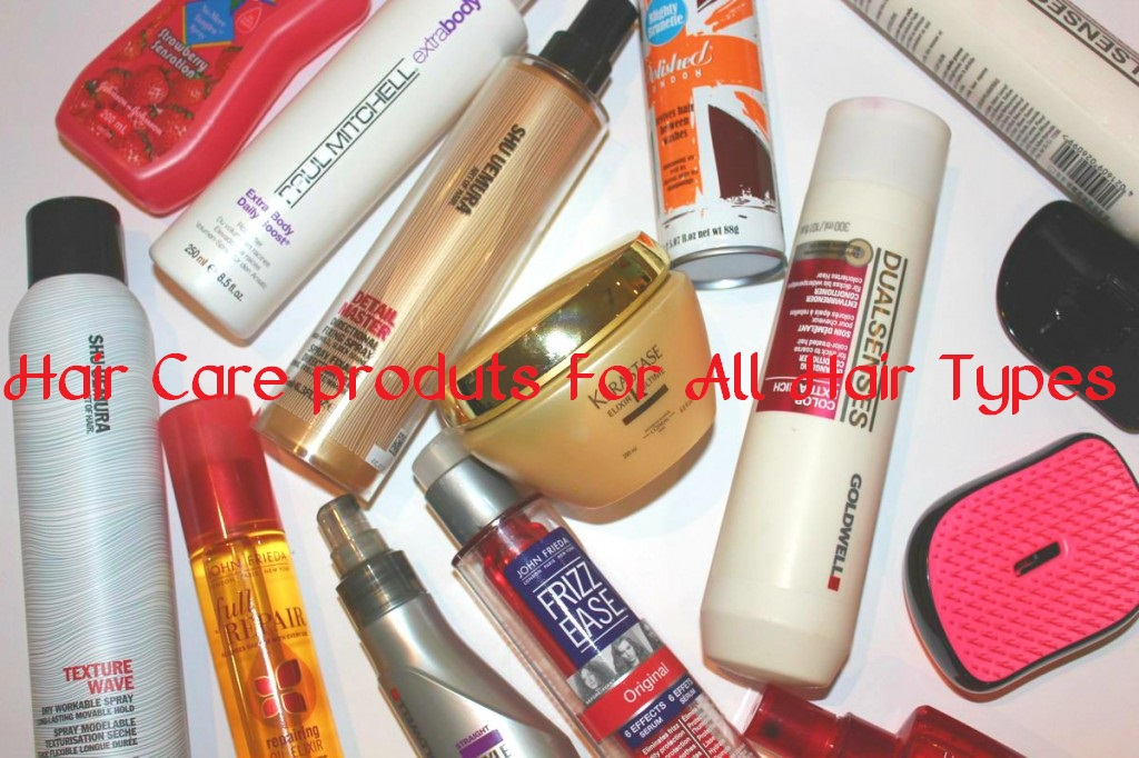 hair care products for all hair types
