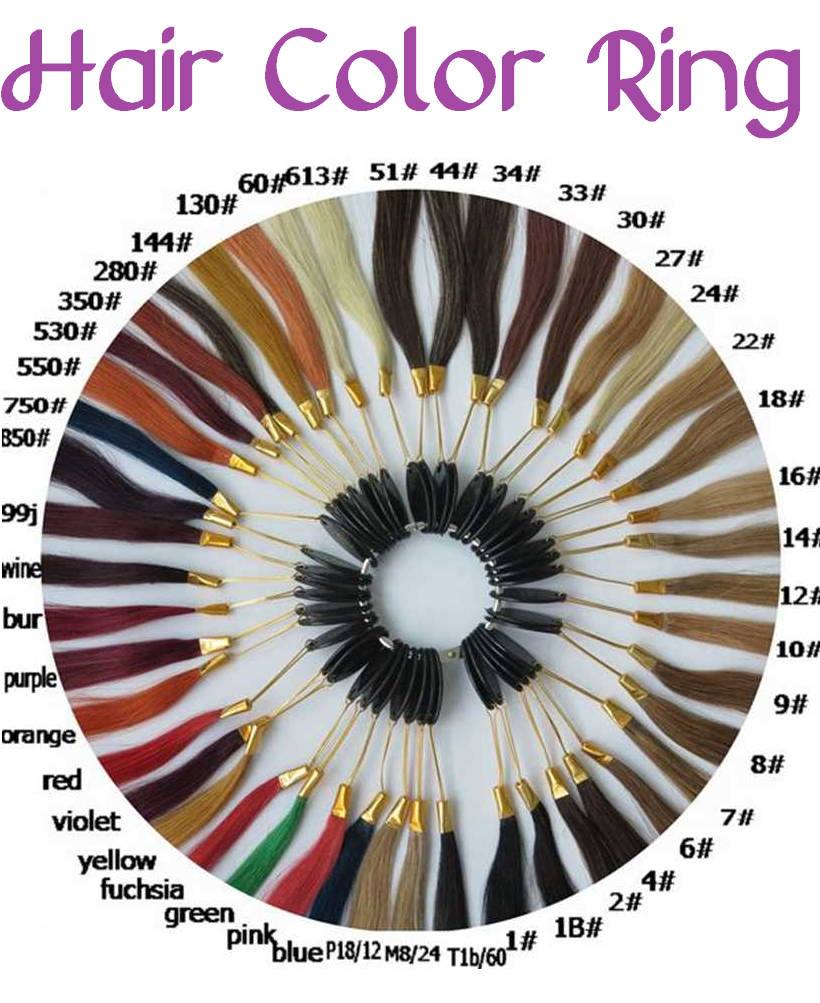hair color ring