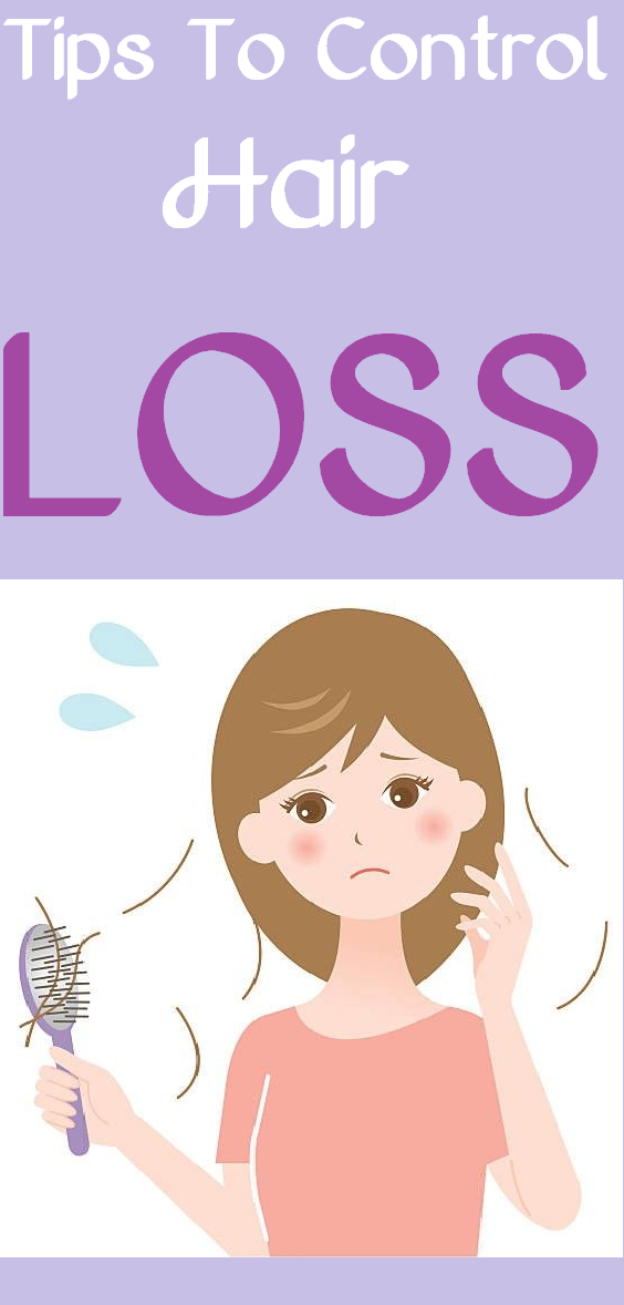 tips to control hair loss