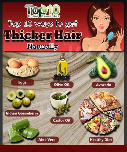 top 10 ways to get thicker hair