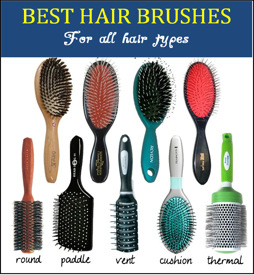 best hairbrushes for all hair types