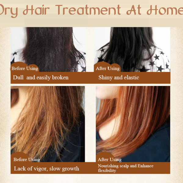 dry hair treatment at home