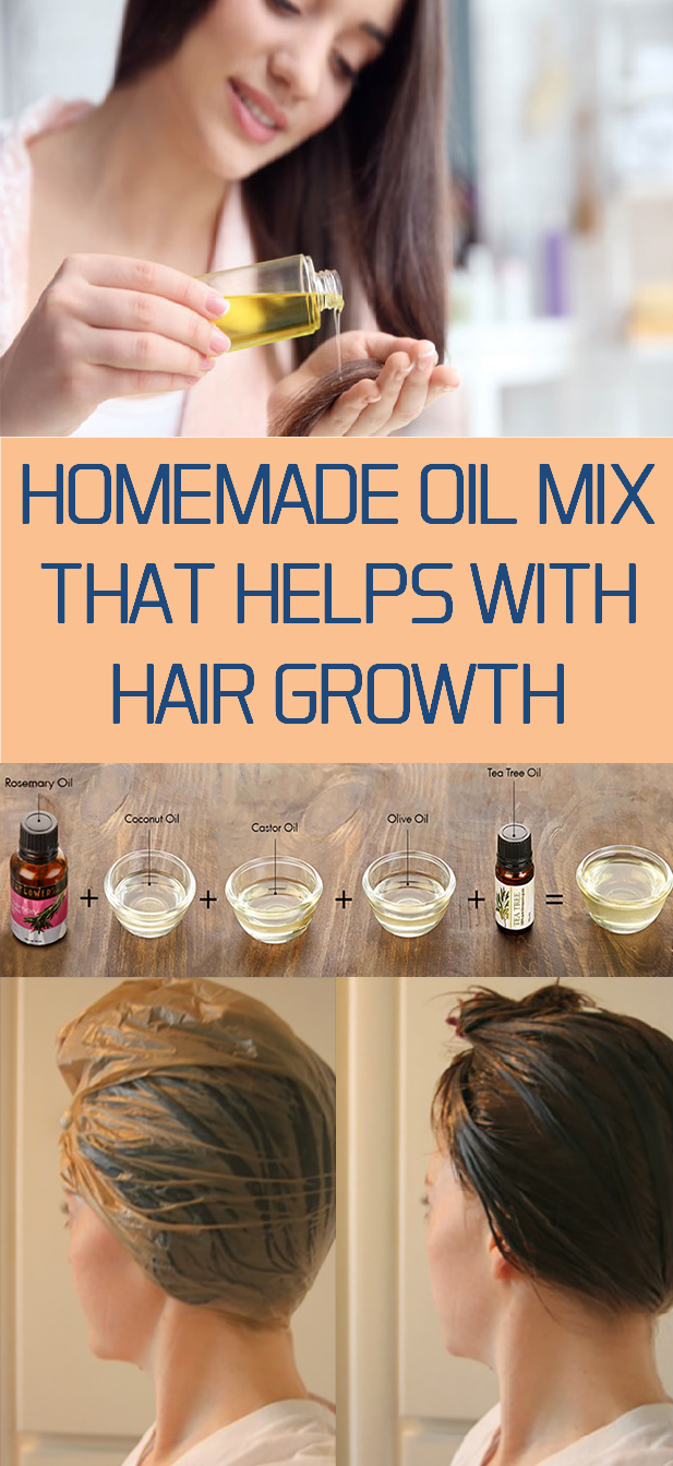 homemade oil mix that helps with hair growth