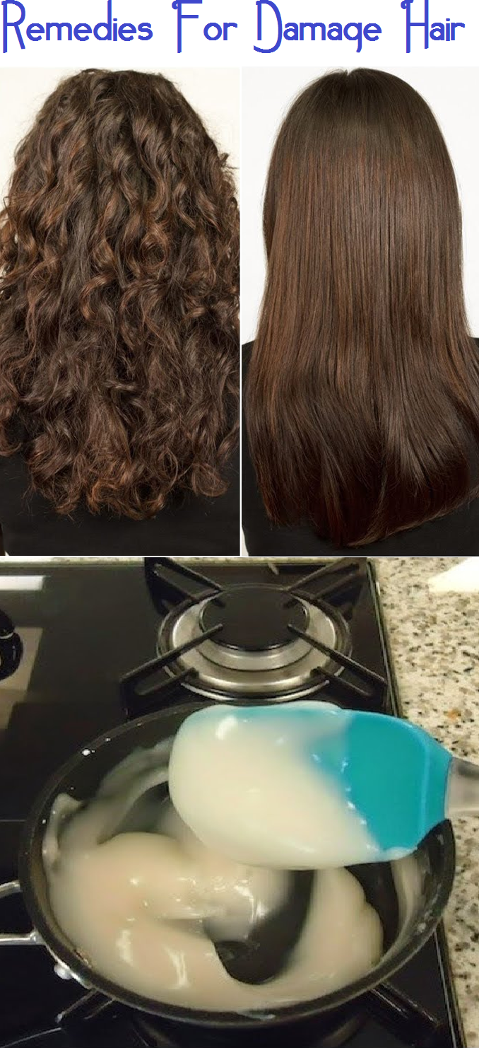 remedies for damaged hair