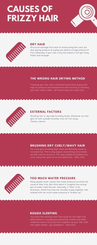 causes of frizzy hair