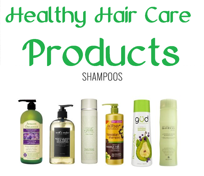 healthy hair care products - shampoos