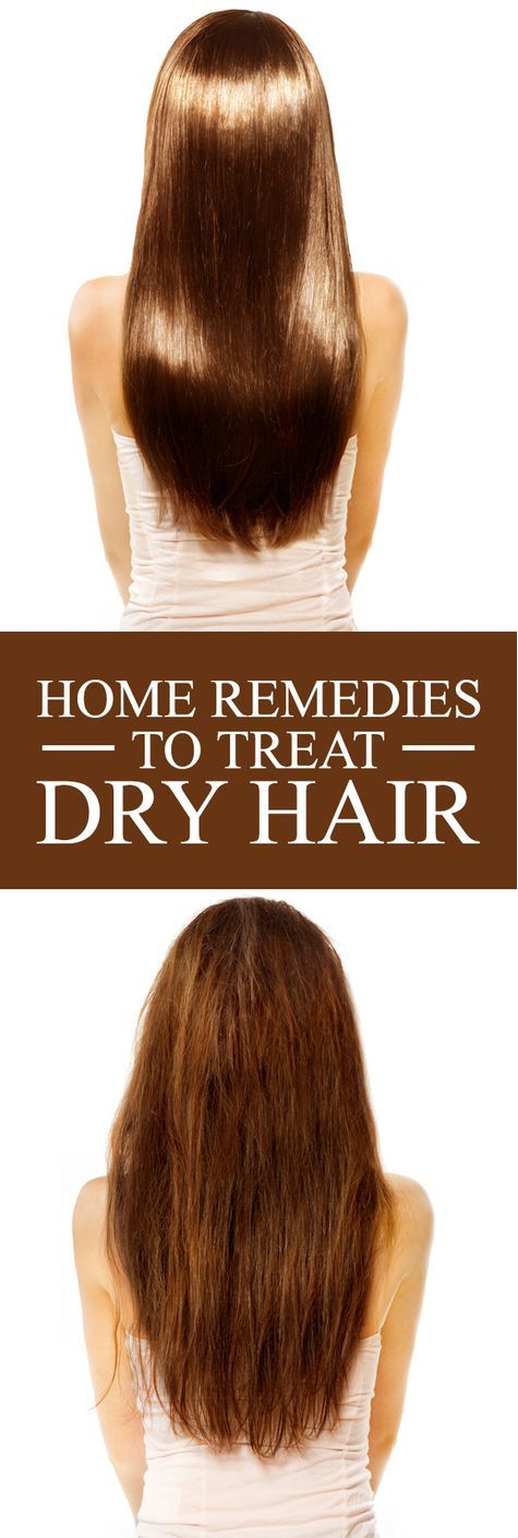 home remedies to treat dry hair