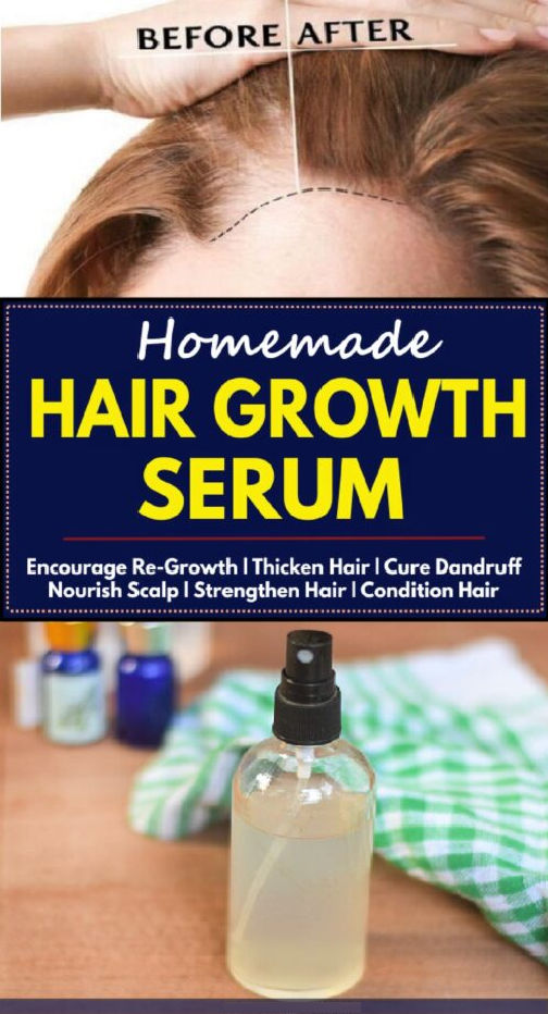 homemade hair growth serum
