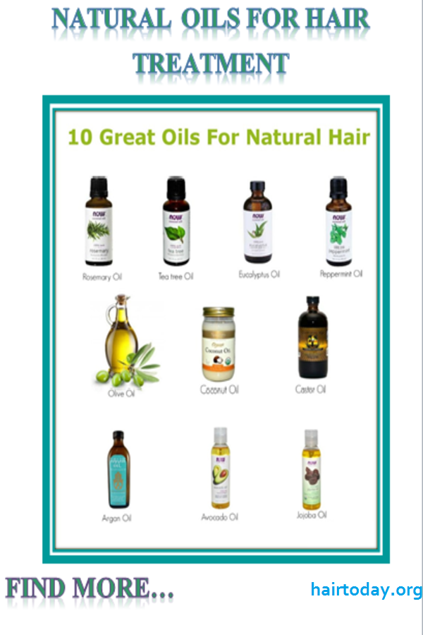 natural oil for hair treatment