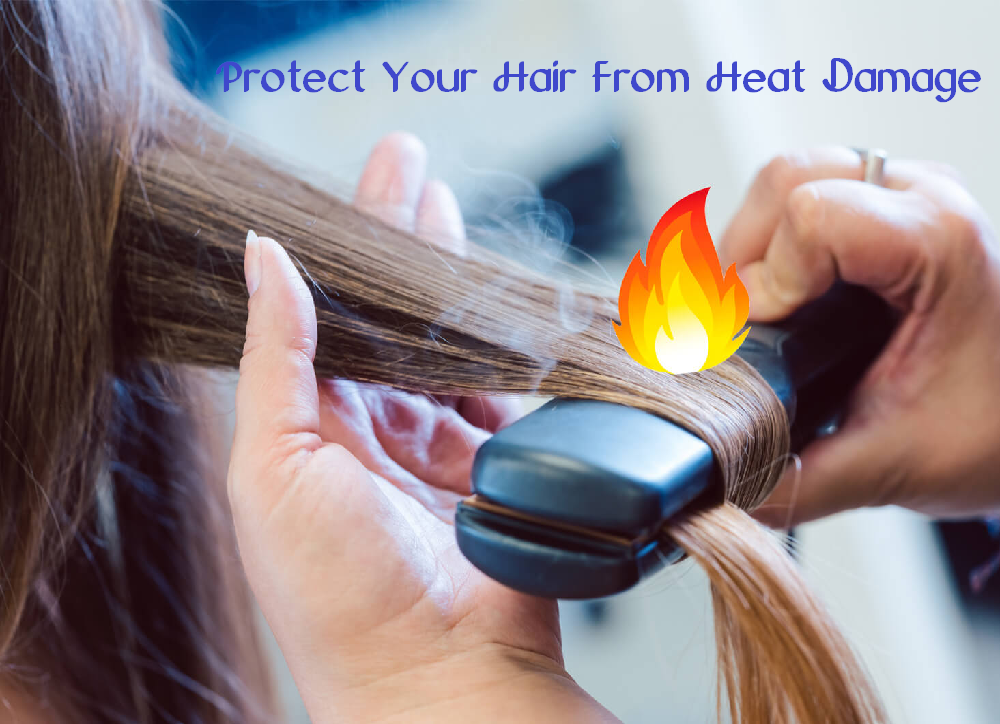protect your hair from heat damage