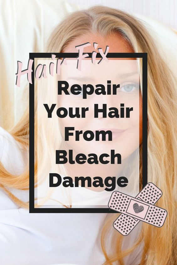 repair your hair from bleach damage