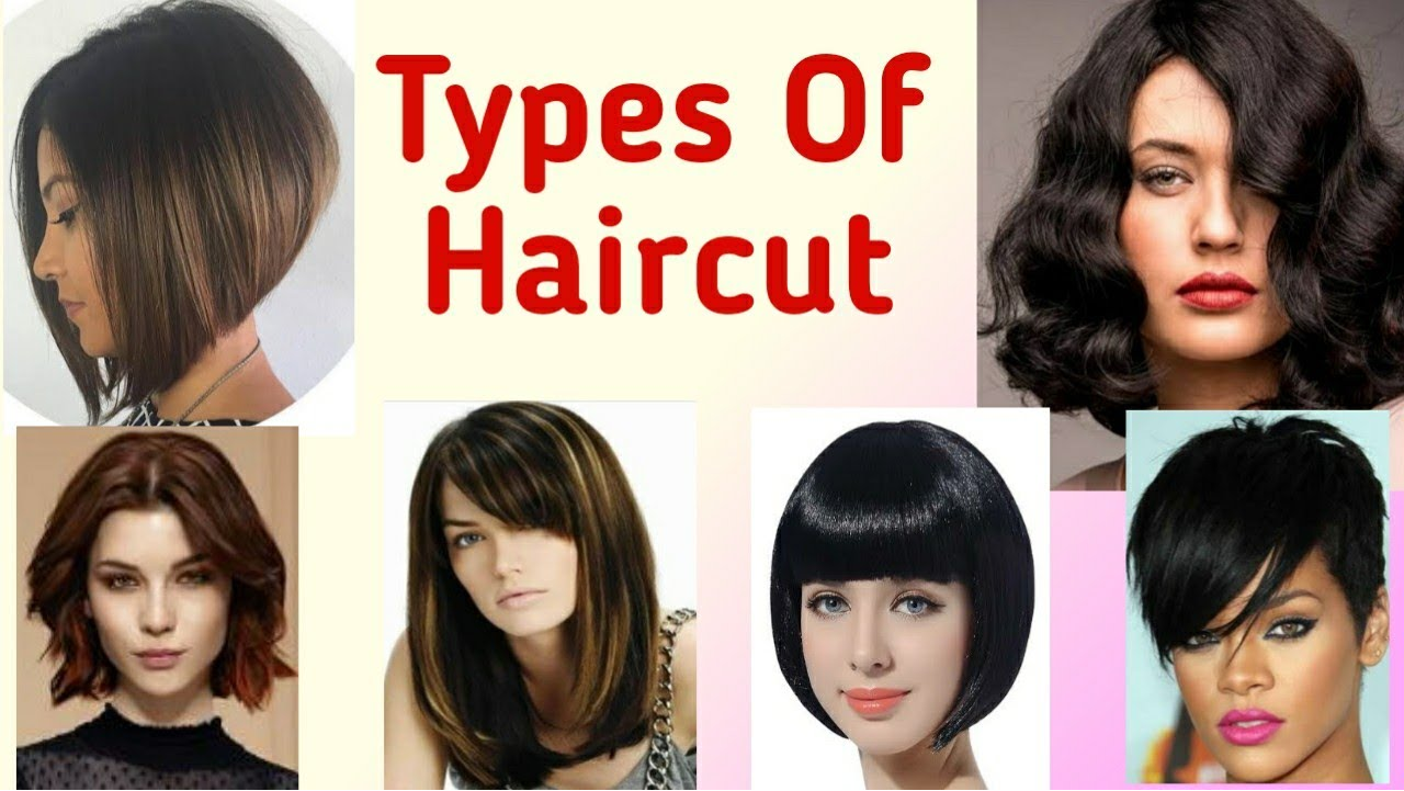 types of haircut