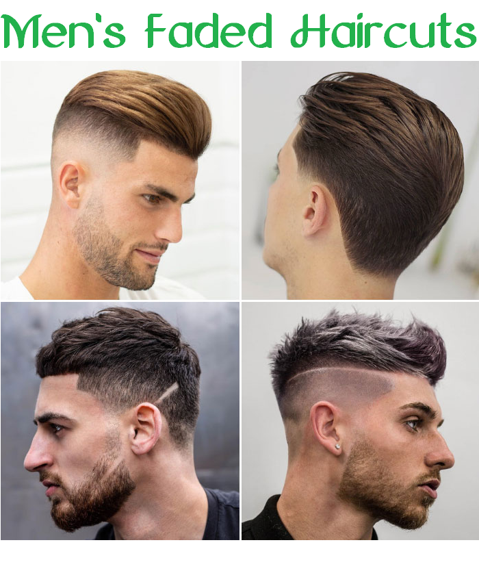 men's faded haircuts
