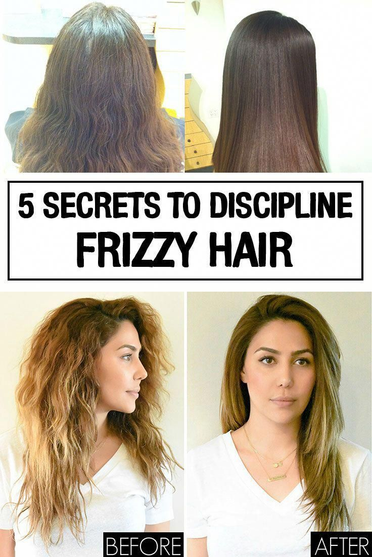 5 secrets to discipline frizzy hair