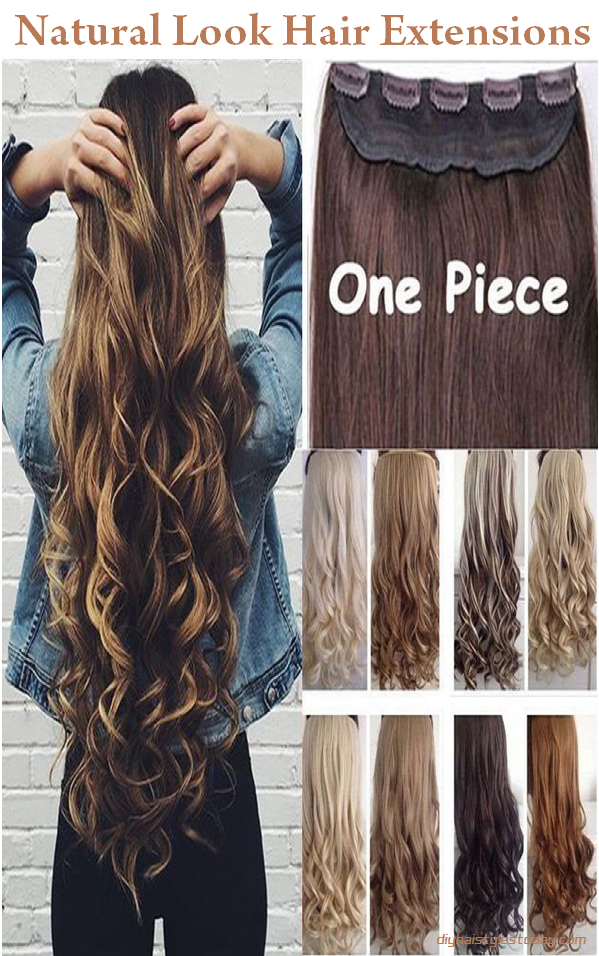natural look hair extensions
