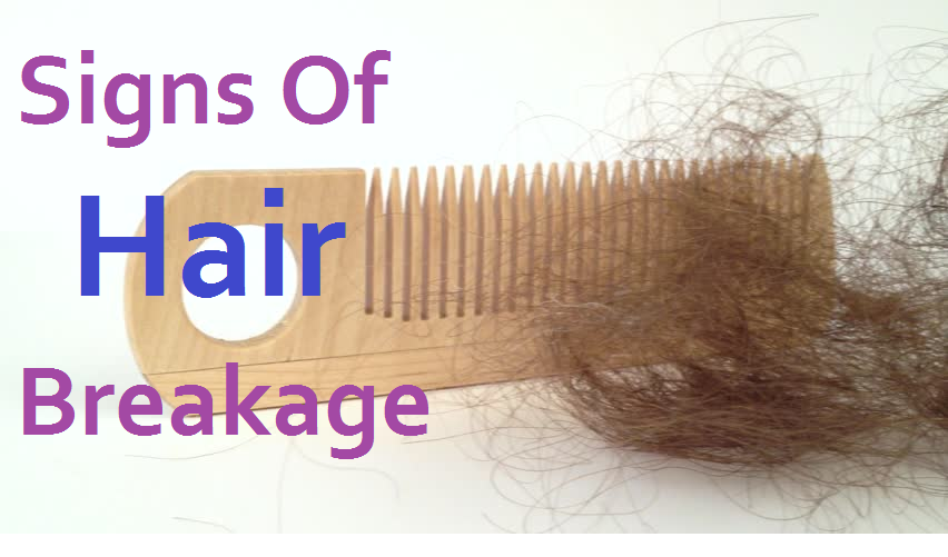 signs of hair breakage