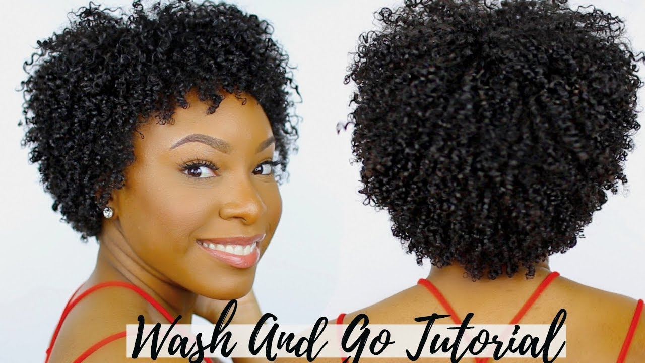 wash and go tutorial