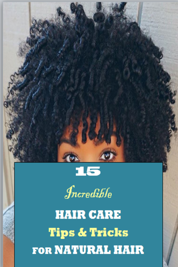 hair care tips for natural hair