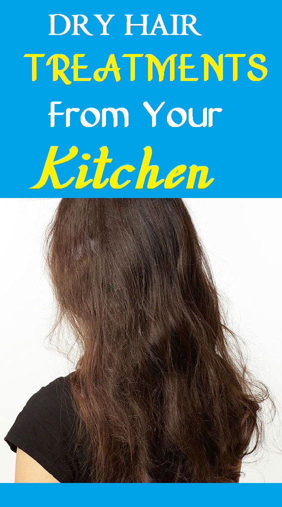 dry hair treatment from your kitchen