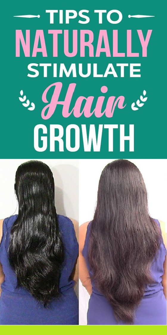 tips to naturally stimulate hair growth
