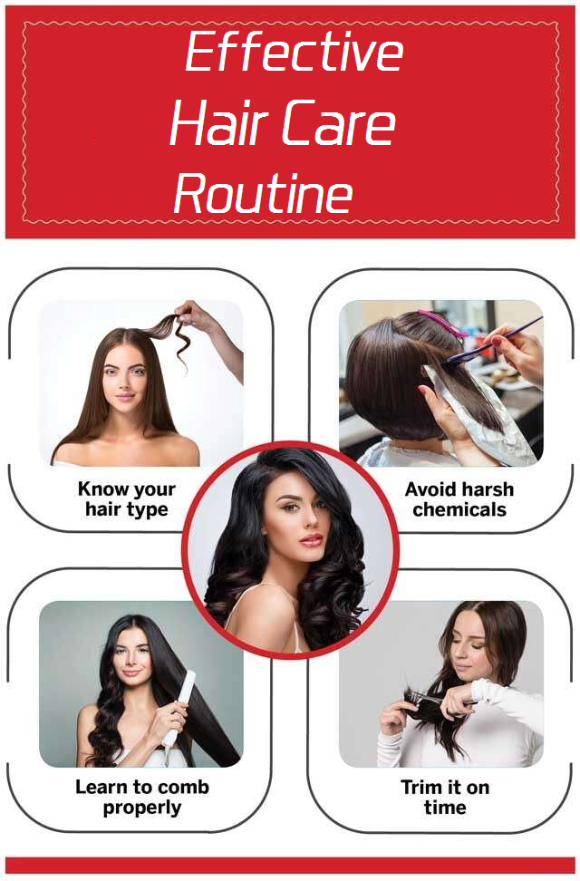effective hair care routine