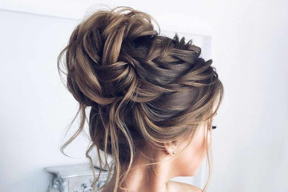 formal hairstyle for long hair