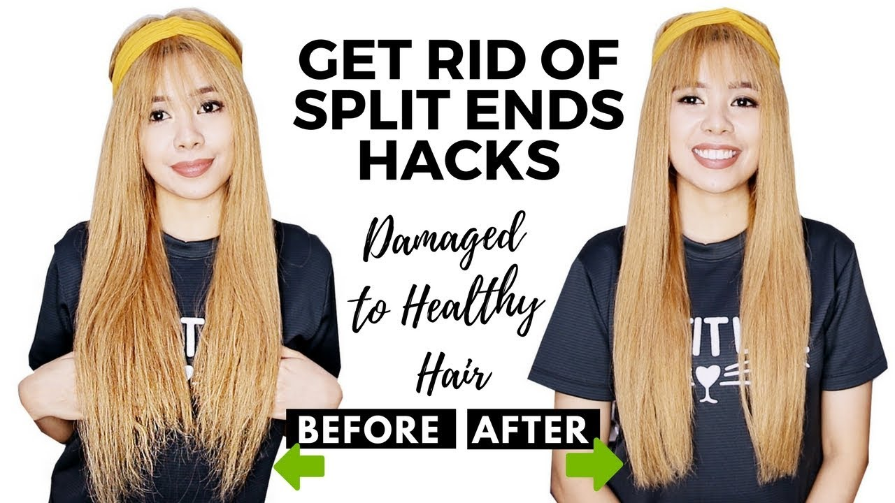 get rid of split ends hacks