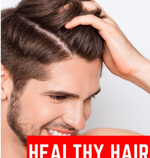 healthy hair guide for men