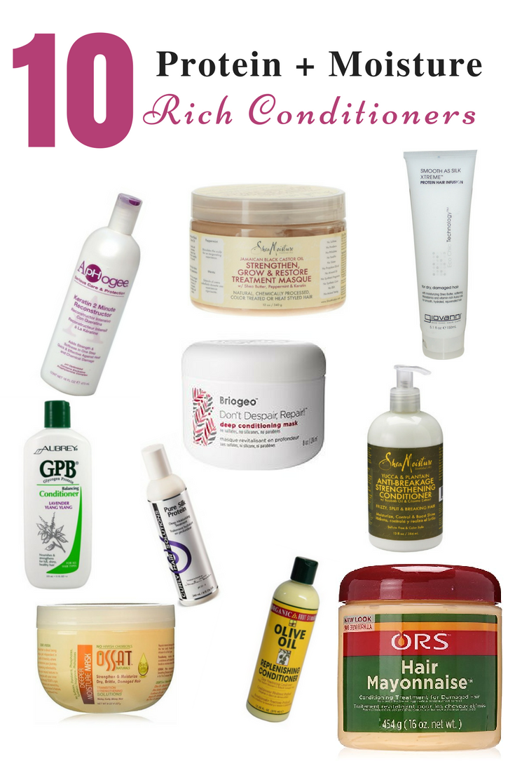protein and moisture rich conditioners