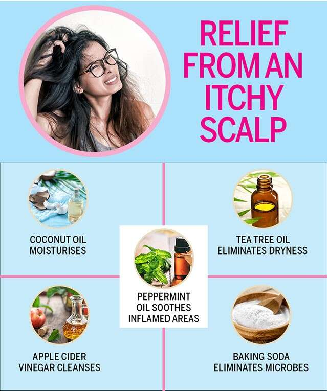 relief from an itchy scalp