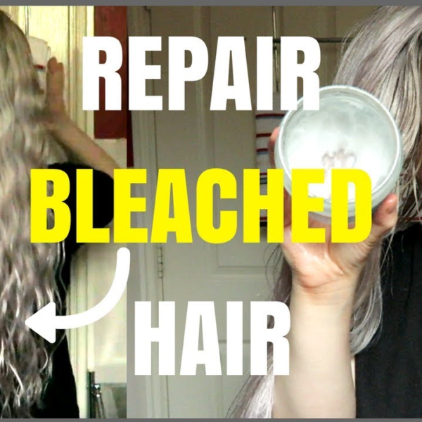 repair bleached hair