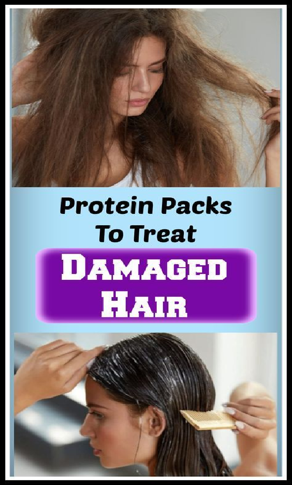 protein packs for damage hair