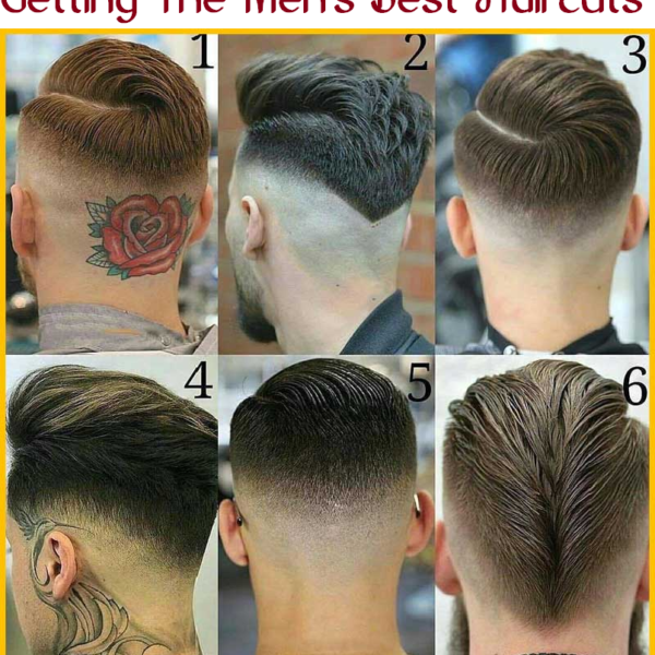 getting the men's best haircuts