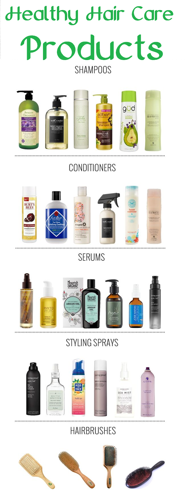 healthy hair care products