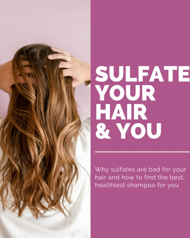 sulfate your hair & you