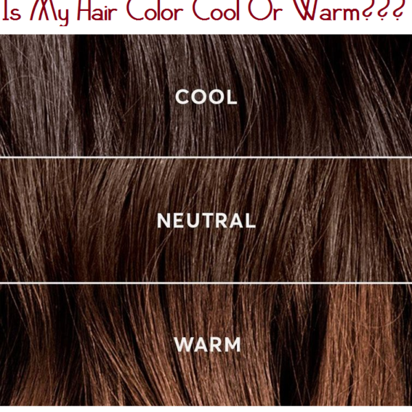 is my hair color cool or warm