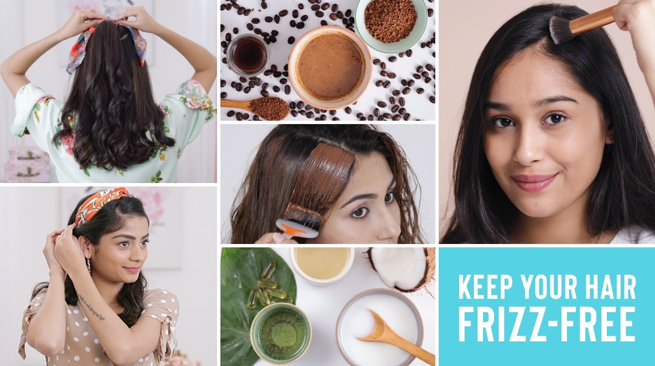 keep your hair frizz free