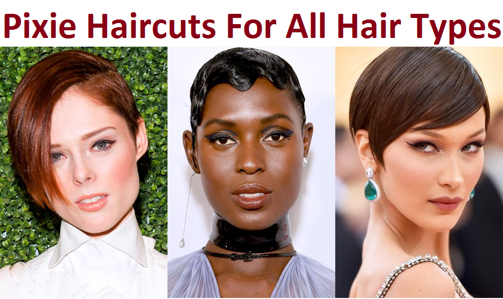 pixie haircuts for all hair types