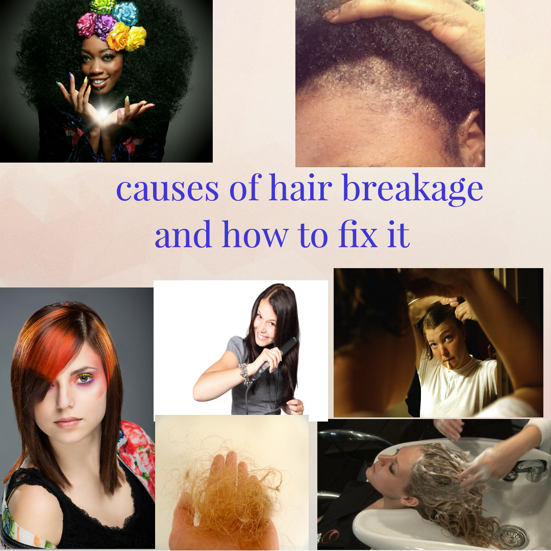 causes of hair breakage and how to fix it