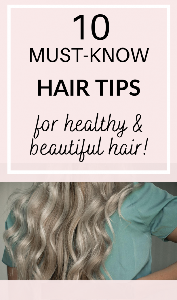 10 must know hair tips