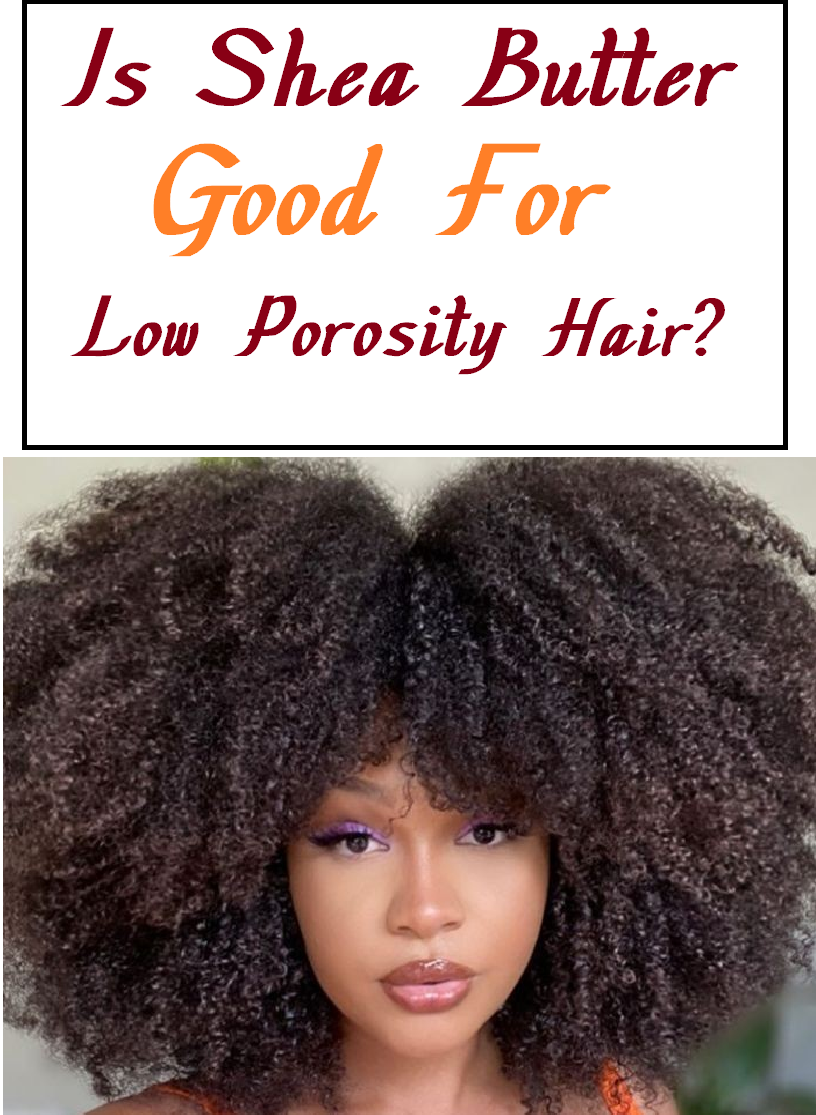 is shea butter good for low porosity hair