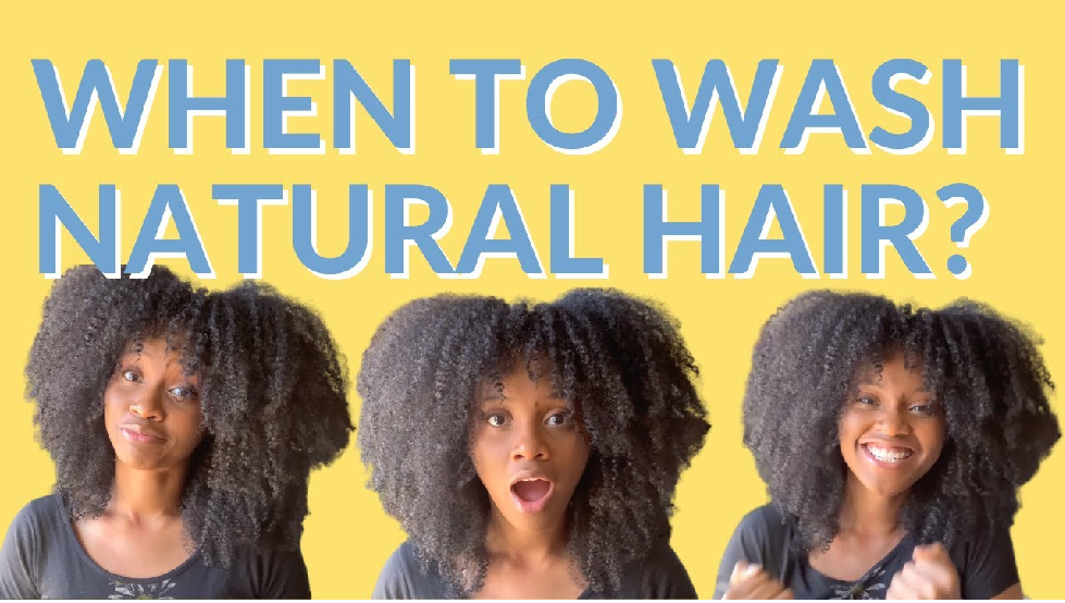 when to wash natural hair