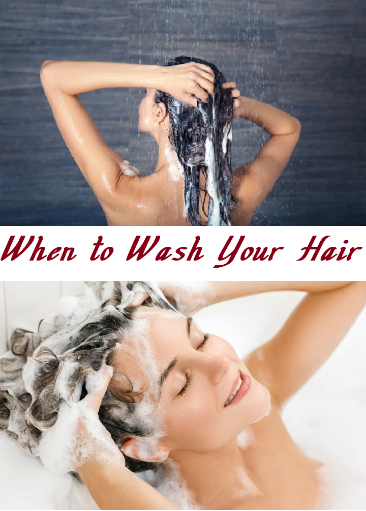 when to wash your hair