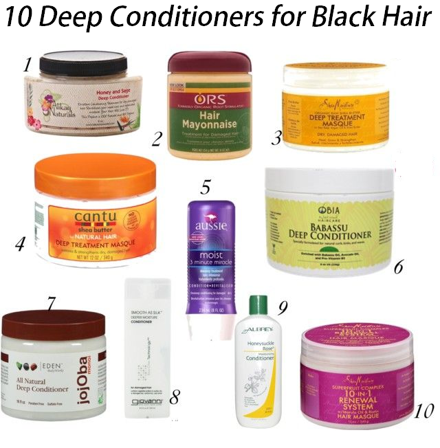 10 deep conditioners for black hair